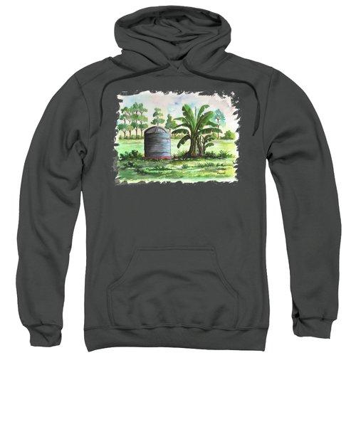 Banana And Tank Sweatshirt by Anthony Mwangi