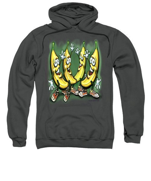 Bananas Sweatshirt by Kevin Middleton