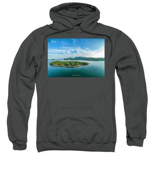 Bar Island, Bar Harbor  Sweatshirt
