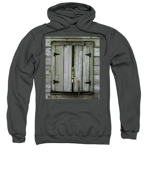Barn Window, In Color Sweatshirt