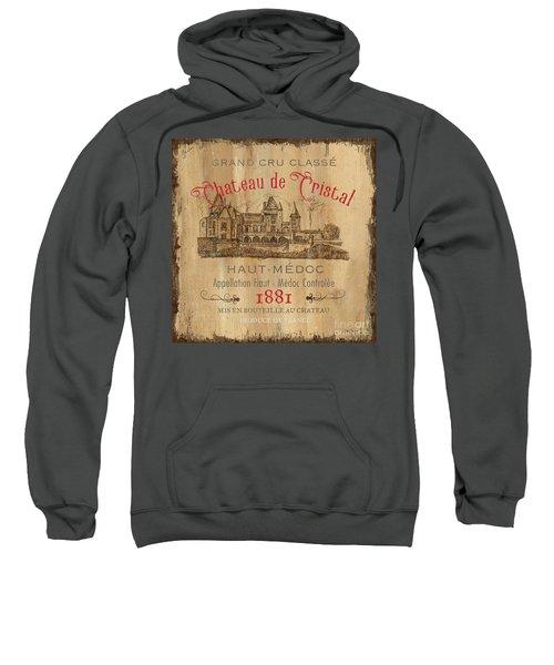 Barrel Wine Label 1 Sweatshirt