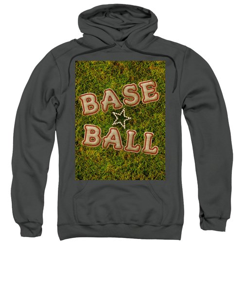 Baseball Sweatshirt by La Reve Design