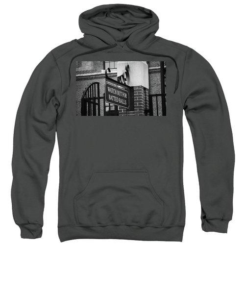 Baseball Warning Bw Sweatshirt