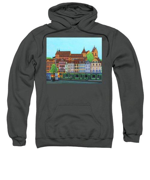 Basel, Barfusserplatz Rendez-vous Sweatshirt