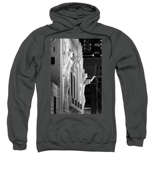 Bass Hall Fort Worth 520 Bw Sweatshirt