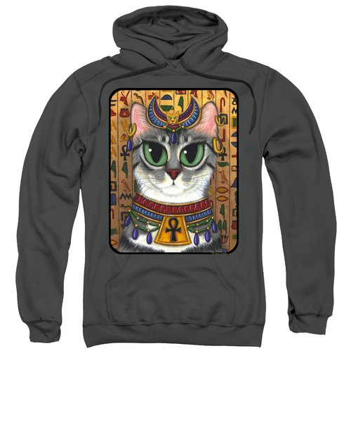 Bast Goddess - Egyptian Bastet Sweatshirt