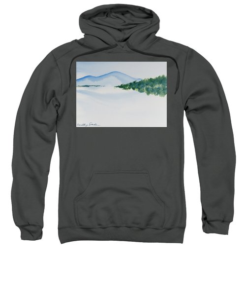 Bathurst Harbour Reflections Sweatshirt