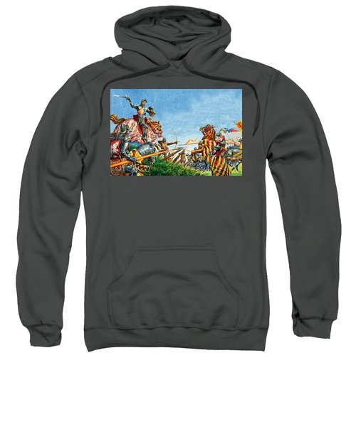 Battle Of Agincourt Sweatshirt