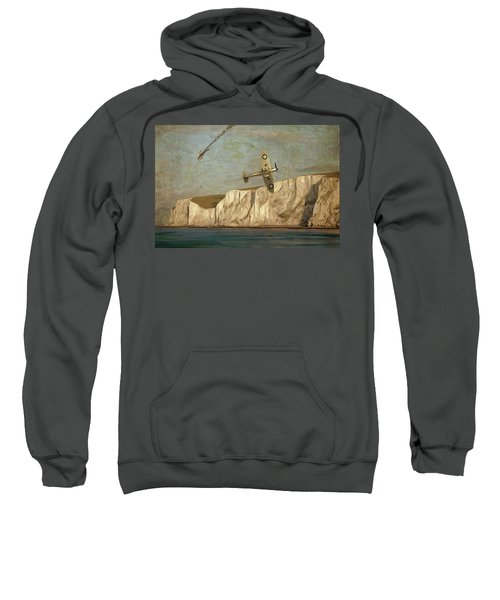 Battle Of Britain Over Dover Sweatshirt