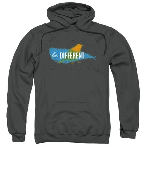 Be Different Sweatshirt by Aloke Creative Store
