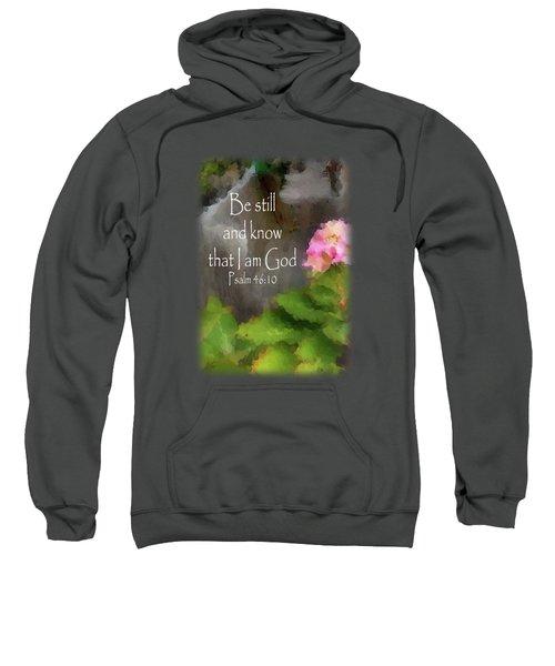 Be Still - Verse Sweatshirt