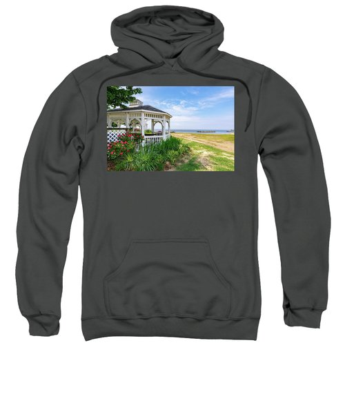 Beach At Rock Hall Sweatshirt