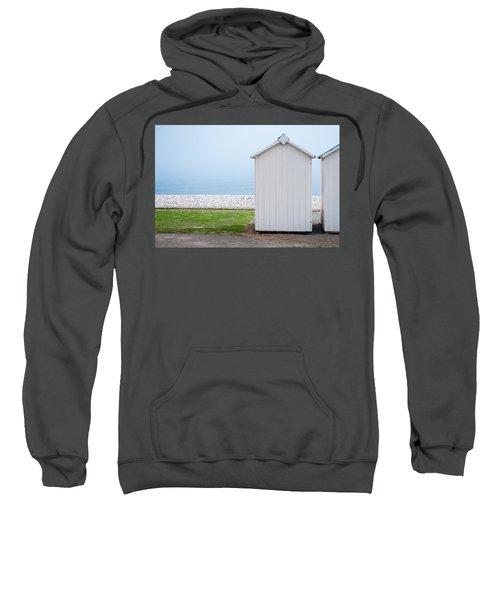 Beach Hut By The Sea Sweatshirt