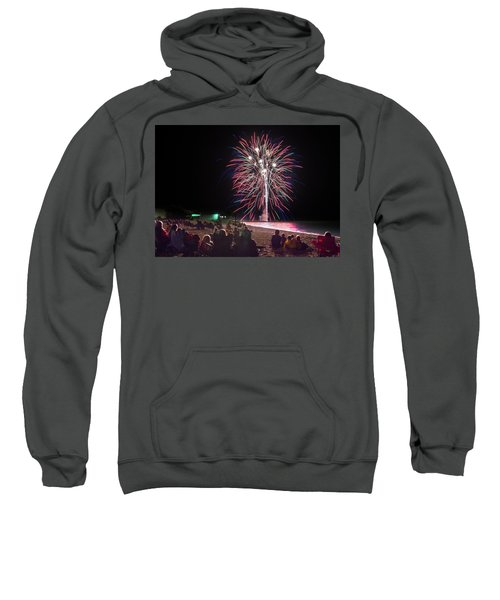 Sweatshirt featuring the photograph Beachside Spectacular by Bill Pevlor