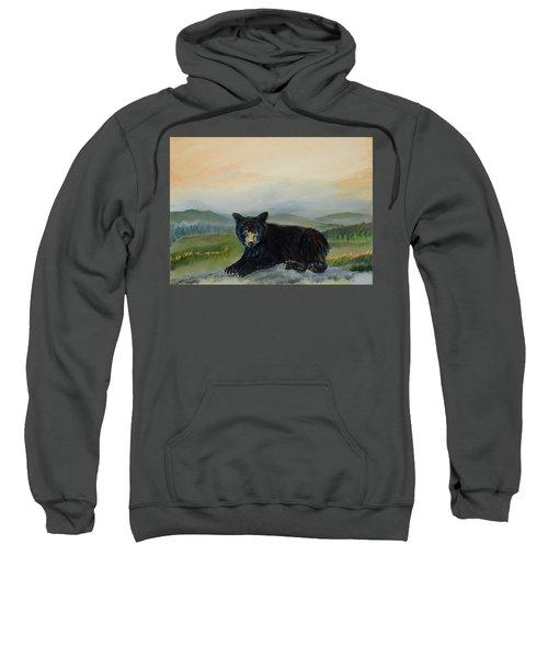 Bear Alone On Blue Ridge Mountain Sweatshirt