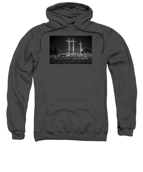 Bearing Witness In Black-and-white 2 Sweatshirt