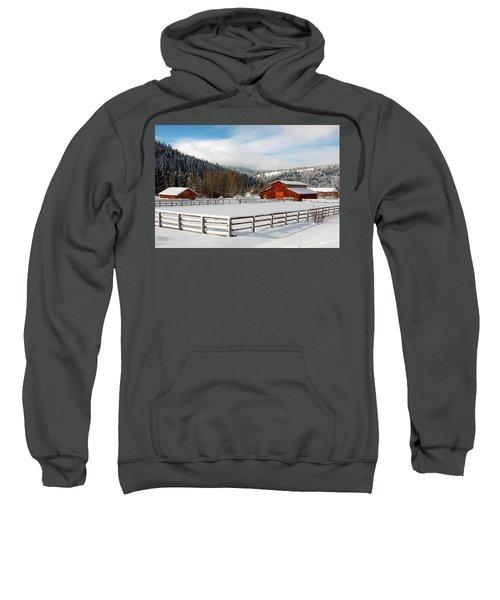 Beautiful Winter Morning Sweatshirt