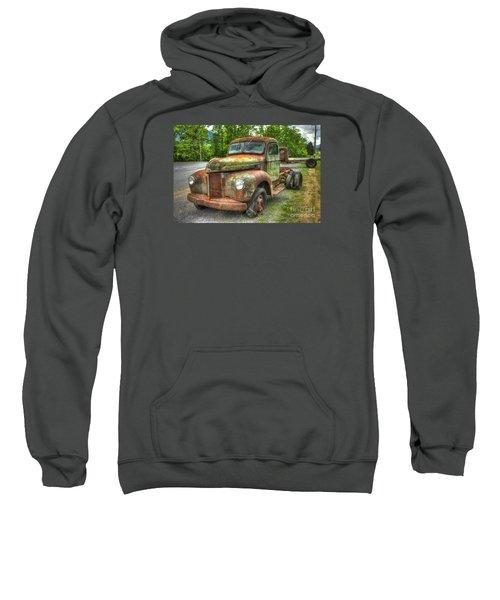 Beauty And The Best 1947 International Harvester Kb 5 Truck Sweatshirt