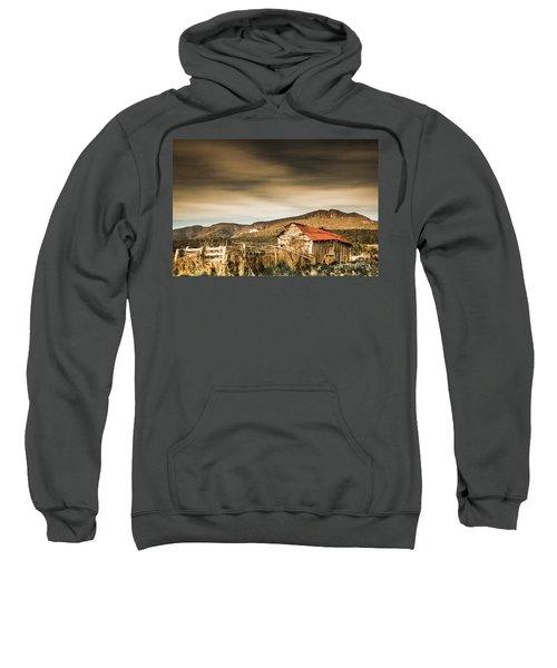 Beauty In Rural Dilapidation Sweatshirt