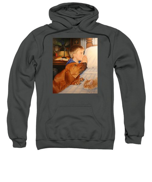 Bed Time Prayers Sweatshirt
