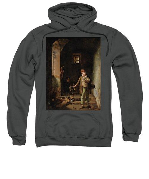 Bedroom Or The Little Groundhog Shower Sweatshirt by MotionAge Designs