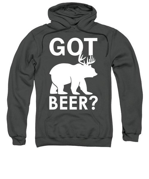 Beer? Sweatshirt by Otis Porritt