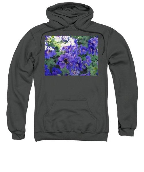 Bees And Flowers Sweatshirt