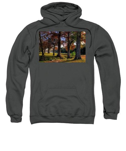 Beginning Of Fall In Texas Sweatshirt
