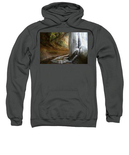 Behind The Ice Falls Sweatshirt