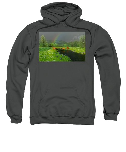 Beneath The Waning Mist Sweatshirt