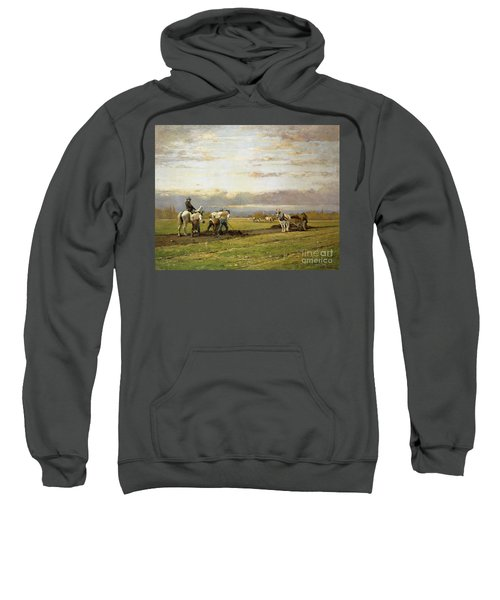 Bent Over The Earth Sweatshirt
