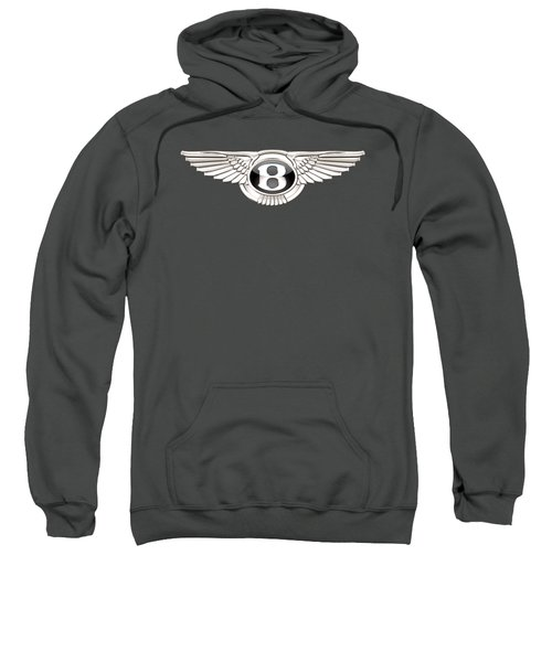 Bentley 3 D Badge On Red Sweatshirt
