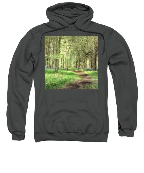 Bentley Woods, Warwickshire #landscape Sweatshirt