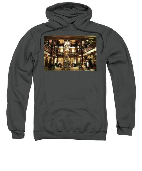 Best Western Plus Windsor Hotel Lobby - Christmas Sweatshirt