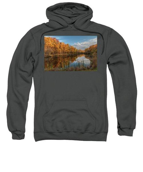 Beyer's Pond In Autumn Sweatshirt