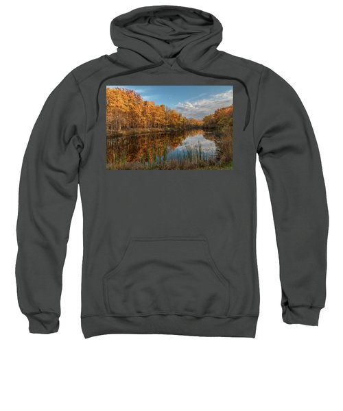 Beyer's Pond In Autumn Sweatshirt