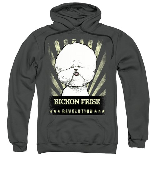 Bichon Frise Revolution Sweatshirt