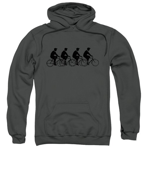 Bicycling T Shirt Design Sweatshirt