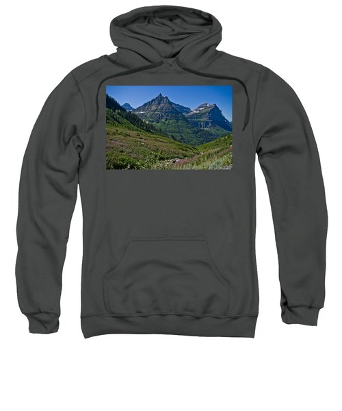 Big Bend, Glacier National Park Sweatshirt