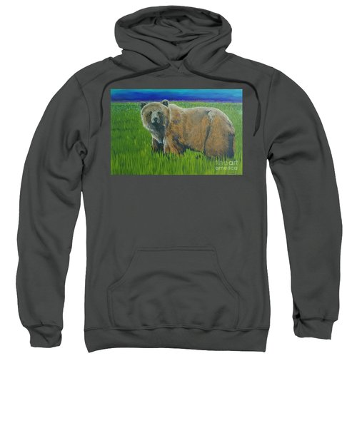 Big Brown Sweatshirt