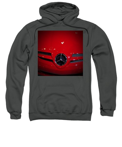 Big Red Smile - Mercedes-benz S L R Mclaren Sweatshirt