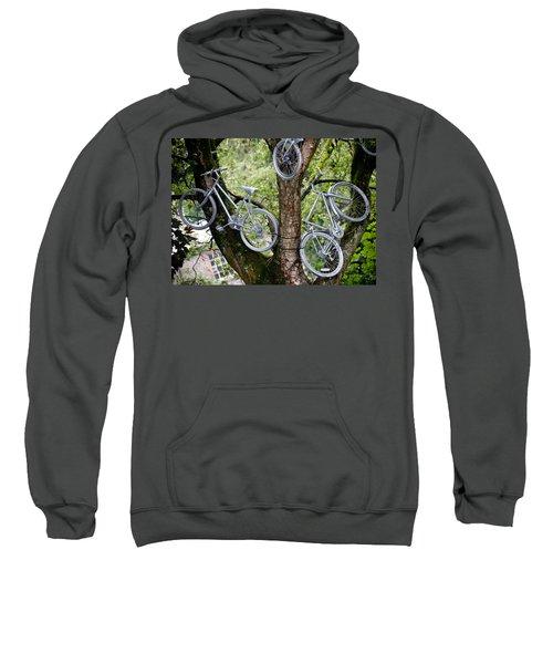 Bikes In A Tree Sweatshirt