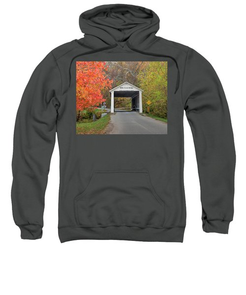 Billie Creek Covered Bridge Sweatshirt