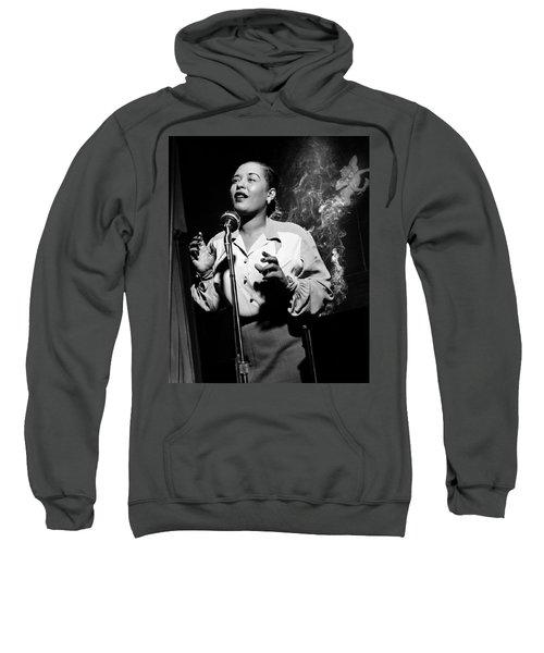 Billie Holiday  New York City Circa 1948 Sweatshirt