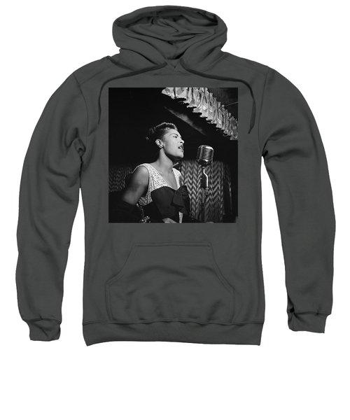 Billie Holiday William Gottlieb Photo New York City 1947 Sweatshirt