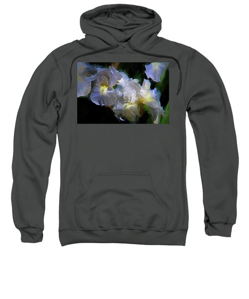 Billowing Irises Sweatshirt