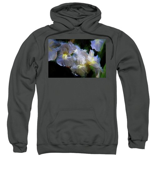 Billowing Irises Sweatshirt