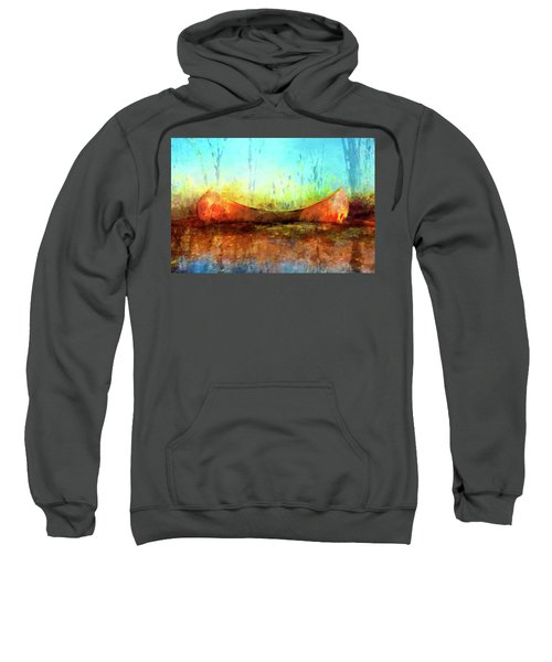 Birch Bark Canoe Sweatshirt