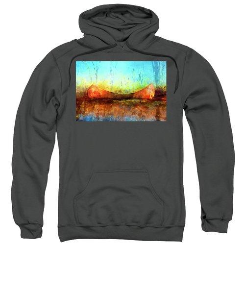 Birch Bark Canoe Sweatshirt