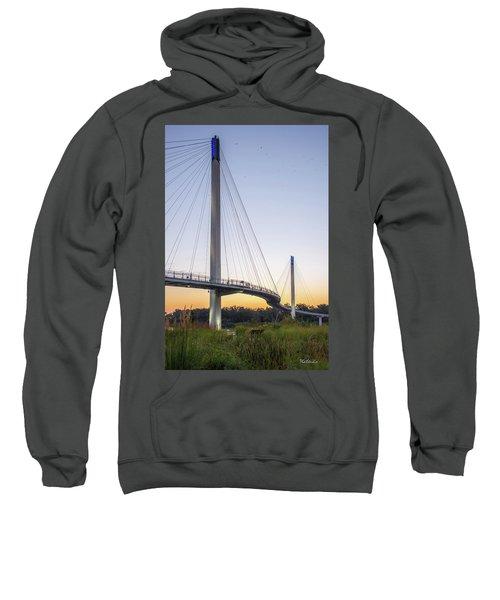 Birds Soaring Over Bob Kerry Bridge Sweatshirt